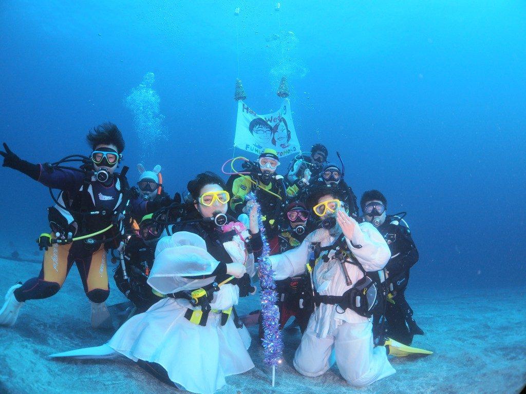 水中結婚式@伊豆海洋公園!!!
