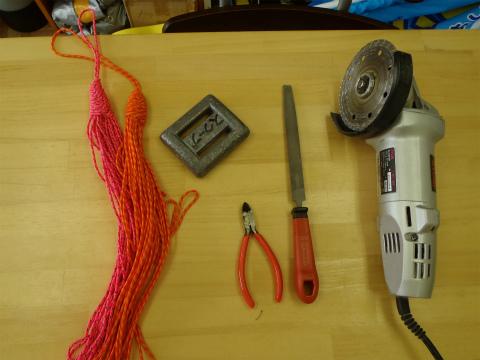 【カスタマイズ】 フロート用重り&ロープ巻き