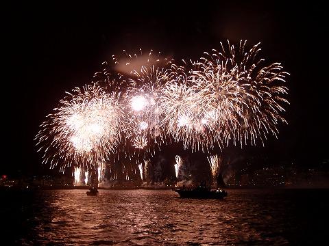 2013年8月31日IOP&熱海船上花火ツアー!