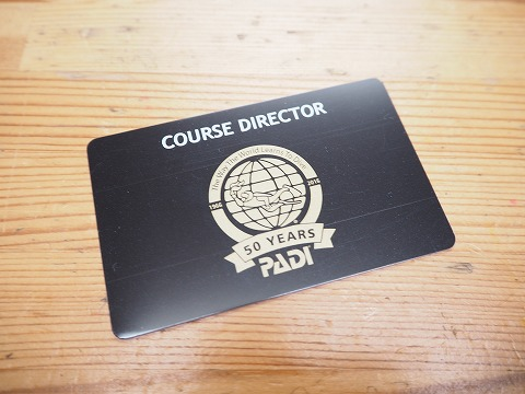 PADI50周年カード☆彡