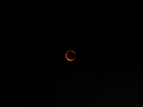 金環日食☆