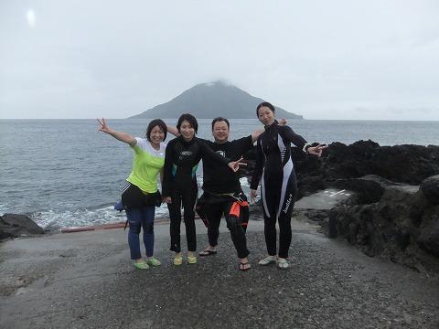 2012年10月5日(金)~8日(月祝)八丈島ツアー