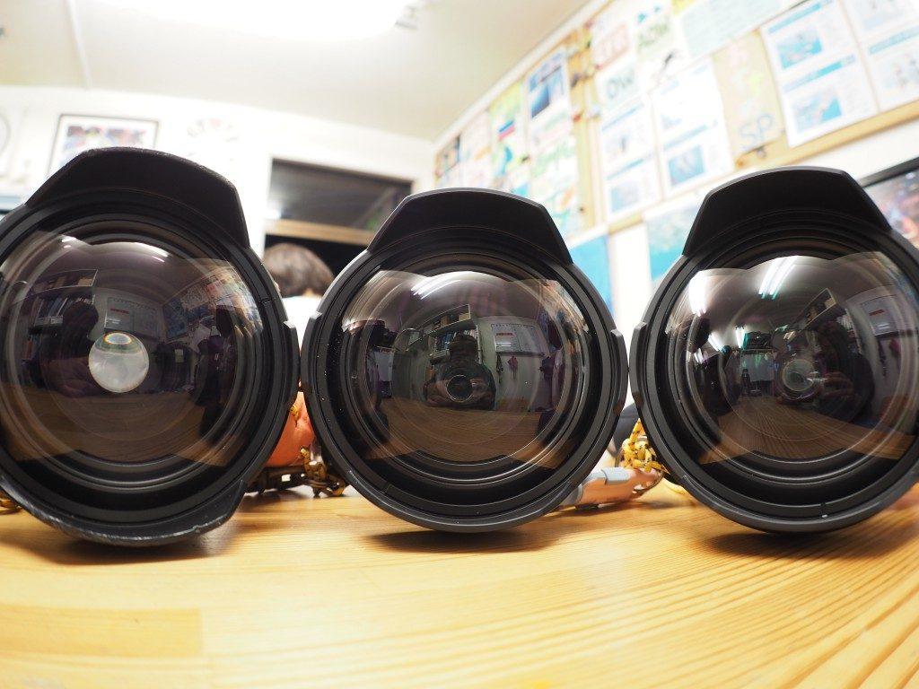 カメラのセッティング♪