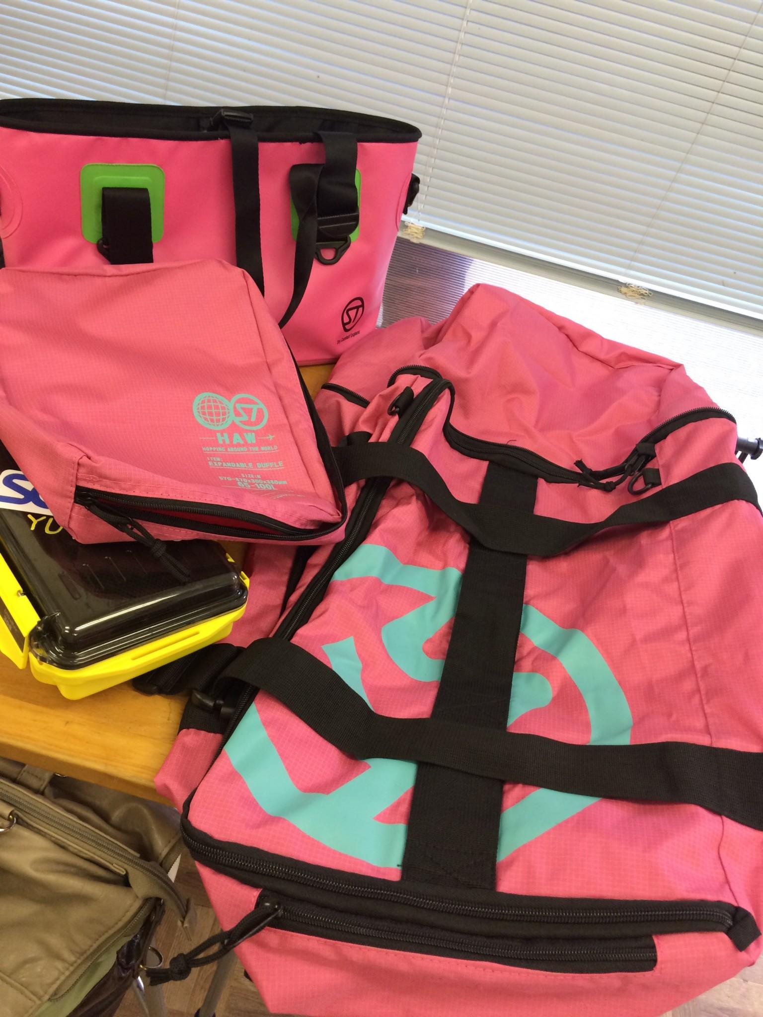 新しいバッグを買いました!!