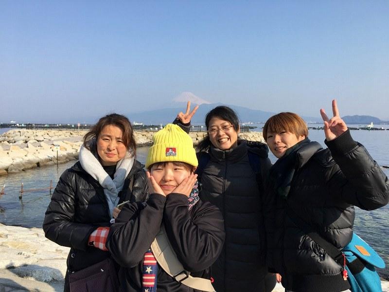 SCOOP初のポイント、平沢マリンセンターといちご狩り!