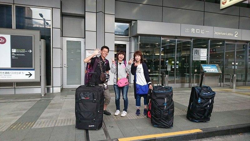 今日は朝から久米島ツアーに出発しました!