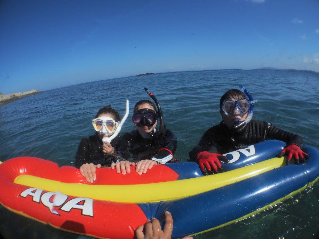 7月19日(月)波左間スノーケリング&ダイビングのログ