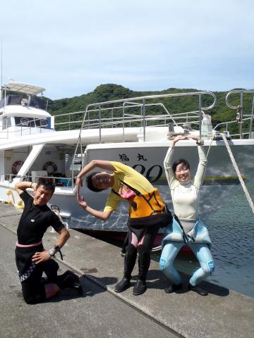 2011年6月22日(水) 神子元 カメ根×2