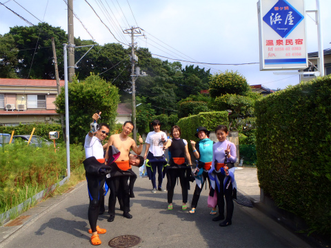 2011年8月13日(土夜)~8月14日(日) 夜行神子元ツアー