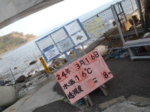 2012年3月16日(金) 岩 海洋実習