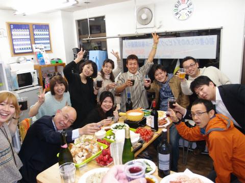 ☆チーズ&チョコフォンデュイベント☆2012/4/12