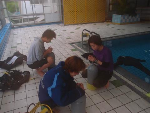 2012年5月4日(金祝) プール講習