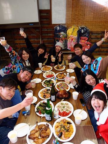 2012年12月16日(日)クリスマスパーティーツアー