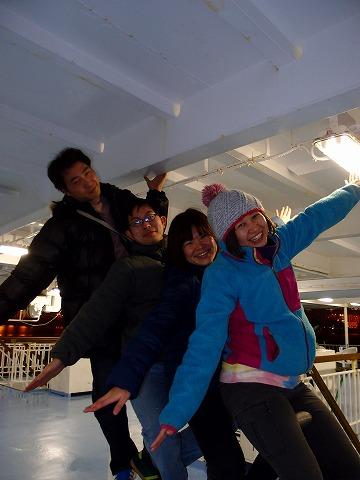 2012年12月30日~2013年1月2日伊豆大島年越しツアー☆彡