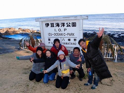 2014年1月26日伊豆海洋公園ツアー&スクーターSPツアー