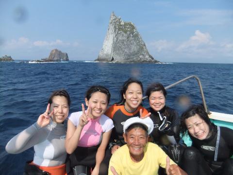 8月26日(金夜)~28日(日)三宅島三本岳ツアー