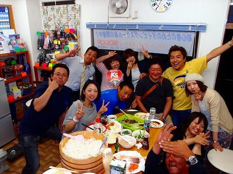 5月14日(火)店内パーティー 手巻き寿司~♪