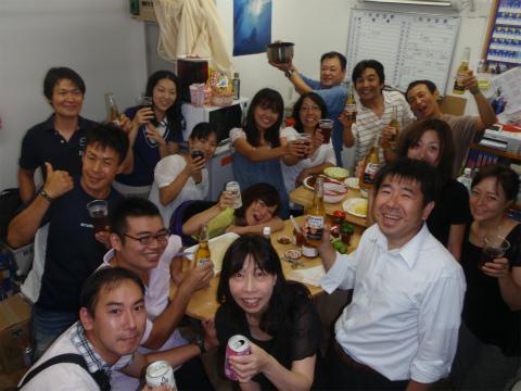 2011年8月31日(水) ☆タコスパーティー☆イベント☆Scoop lab☆