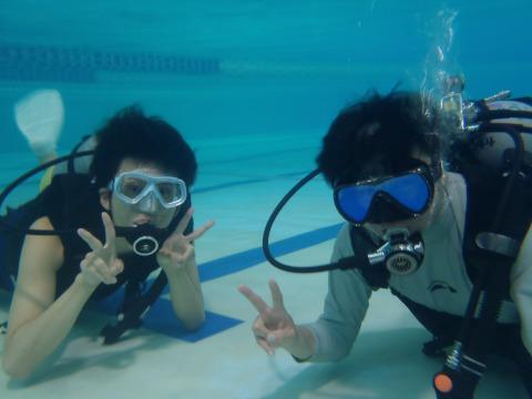 2011年10月18日(火) ゴールドジム体験ダイビング