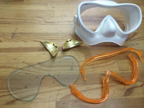 マスクの掃除♪