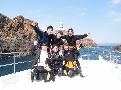 海からのサプライズ☆